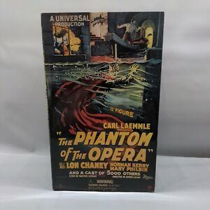 "The Phantom Of The Opera Sideshow 12"" Figure Lon Chaney Sealed"