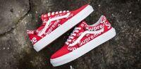 Supreme X Vans Sneaker Customs