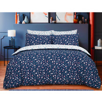 Navy Duvet Cover Set Luxury Bedding Set Quilt Cover Single Double King Size New