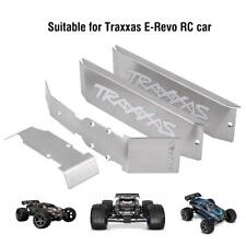4Pcs Metal Chassis Armor Skid Plate RC Accessory for 1/10 Traxxas E-Revo RC Car