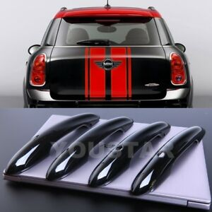 US STOCK 4 PIANO BLACK Comfort Door Handle Covers MINI Cooper F55 F60 Countryman
