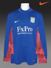 Nouveau Nike Aston Villa Football Club Gardien De But Gk Shirt Bleu XL