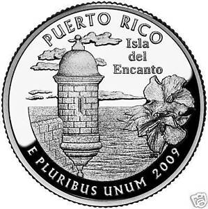 2009-P PUERTO RICO TERRITORIAL QUARTER ~~FREE SHIPPING INCLUDED~~