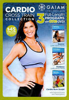 Cardio Cross Train Exercise Fitness Workout Collection DVD Brand New & Sealed !