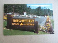 KLAMATH CA  Del Norte county Post Office Real Photo POSTCARD Circa 1970s
