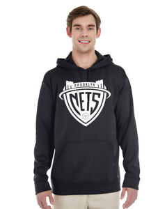 Brooklyn Nets concept logo Performance Hoodie polyester Drifit Durant Irving BK