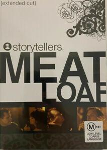MEAT LOAF Storytellers DVD Music Region 4 - Extended Cut Meatloaf