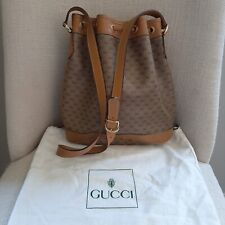Vtg Gucci Micro GG  Supreme Sack Ba