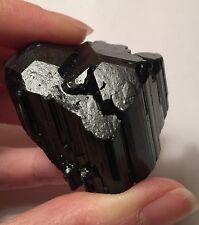 Fantastic Sharp Black Tourmaline Crystal Cluster ~ Record Keeper Trigonics