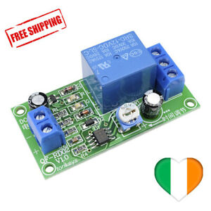 Relay Module Delay Timer Switch NE555 0-60 Seconds 12V Time Adjust for Arduino