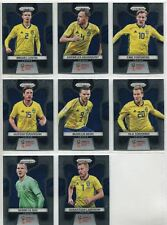Panini Prizm World Cup 2018 Complete 8 Card Sweden Team Set