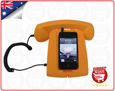 Retro Mobile Phone Handset Cradle Reciever 3.5mm Jack iPhone Android Tablet PC