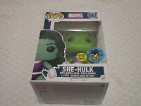 Funko Pop! Marvel She-Hulk Glow in the Dark GID Comikaze Exclusive #147 Figure