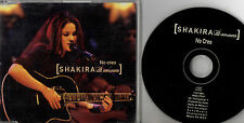 SHAKIRA - No Creo, CD SG PROM MEXICO RARE 2000