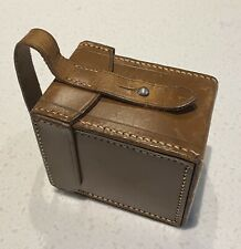 Block Leather Reel Case
