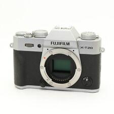 FUJIFILM X-T20 Silver -Near Mint-