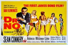 "JAMES BOND - DR. NO - MOVIE POSTER 18"" X 12"" SEAN CONNERY"