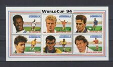S6665) Dominica 1994 MNH World Cup Football '94 - S/S