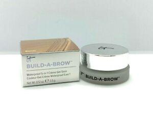 It Cosmetics Build-A-Brow Waterproof 5-In-1 Gel Stain ~ Blonde ~ .12oz