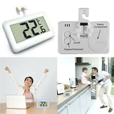 Kitchen Freezer Refrigerator Wireless LCD Digital Waterproof Thermometer Alarm