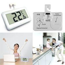 Kitchen Freezer Refrigerator Wireless LCD Digital Waterproof Thermometer Alarm