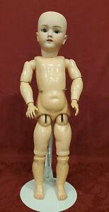 """Wonderful 24"""" Antique German Bisque Doll Heinrich Handwerck Simon & Halbig Doll"""