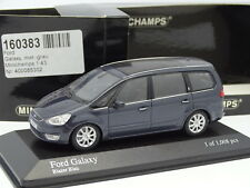 Minichamps 1/43 - Ford Galaxy 2006 Azul Metal