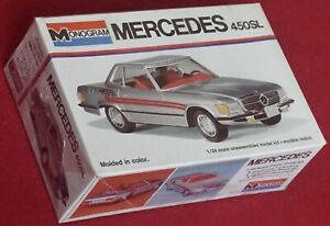 Monogram 1/24 Mercedes 450SL - cat. 2102 - 1976 issue - Sealed!
