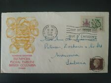 CANADA's Prov. Floral Emblem, British Columbia, 1965 First Day of Issue, Ottawa