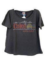 New Junkfood junk food t shirt Coke Adds Life Size Medium
