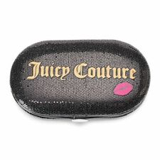 NEW! Juicy Couture Black Glitter Manicure Tools Kit Travel Size Limited Edition