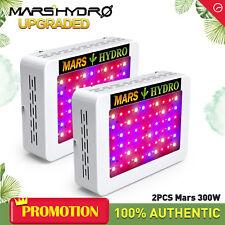 2PCS Mars Hydro 300W LED Grow light Kit Full Spectrum Indoor Plant lamp for Sale