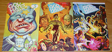 God Hates Astronauts #1-3 VF/NM complete series - signed ryan browne - set 2