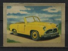 Kleinstwagen 1952 Vintage 1950s Dutch Trading Card No. 144
