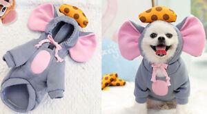 Pet Clothes for Dog Cat Puppy Hoodies Coat Winter Sweatshirt Jacket L size