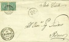 GG354-LOMBARDIA, DARFO BOARIO TERME, NUMERALE A SBARRE PER BRENO, 1885