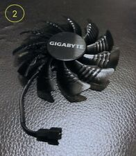 Gigabyte WindForce 3X Series Video Card Cooling Fan 2-Pin wires GTX970 980Ti 960