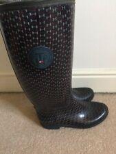 Tommy Hilfiger Rain Winter Wellies Wellington Women's Boots UK 4 EU37