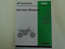 1982 Honda Cr250R Cr 250 R Service Shop Repair Manual Oem Factory Dealership New