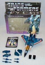 Vintage 1984 Hasbro G1 Transformers Thundercracker Complete With Box Original