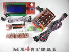 3D Printer Set Smart Controller Ramps 1.4 SD Ramps A4988 4p Dupont Kabel 392