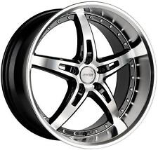 19x8.5/9.5 MRR GT5 WHEELS STAGGERED 5X114.3 RIM FITS FORD MUSTANG V6-V8 GT 05-UP
