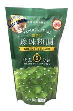 1 Paquete de wufuyuan Verde sabor del té tapioca Perla 250g para Bebida té de burbuja