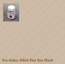 863 Tru-Color Paint Flat Tan Flesh