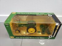 John Deere 420 Tractor w/KBL Disc -Precision Key Series #4 1/16 Scale Ertl#15851