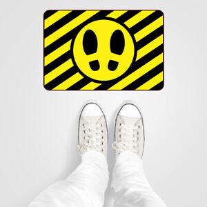 Social distancing floor Vinyl or wall stickers directional footprints x 3 9599