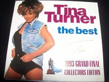 Tina Turner The Best 1993 Grand Final Collector's Edition Australian CD Single