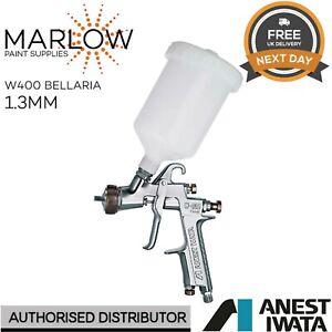 IWATA W400 BELLARIA CLASSIC PLUS GRAVITY SPRAY GUN WITH CUP - 1.3MM