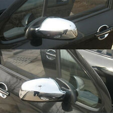 FIT FOR 2004-2012 PEUGEOT 307 CC SW 407 DOOR SIDE WING MIRROR CHROME COVER 2pcs