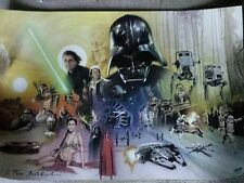 STAR WARS CELEBRATION VI Poster Signed BRIAN ROOD Limited Ed 193/250 Exclusive